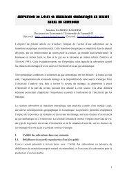 Subvention de l'Etat et transition énergétique en - RIAED | Réseau ...