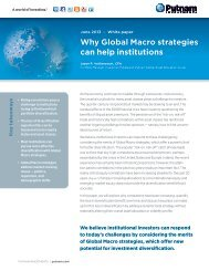 Why Global Macro strategies can help institutions - Putnam ...