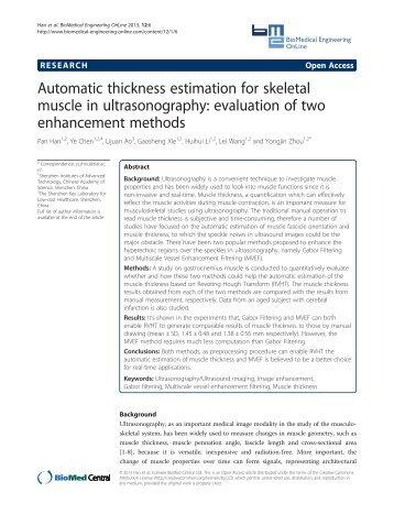 PDF - BioMedical Engineering OnLine