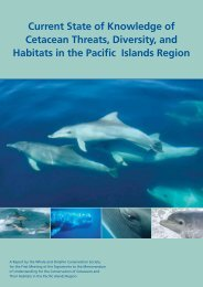 pacific islands report_NU.indd - Whale and Dolphin Conservation ...