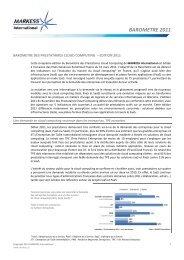 Baromètre 2011 - EuroCloud France