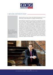 CARTA DEL EDITOR IN CHIEF - GCG: Revista de Globalización ...