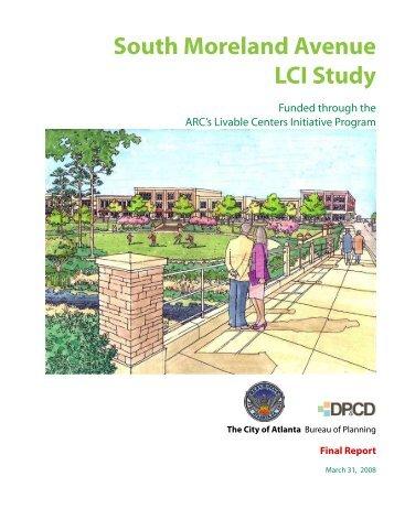 South Moreland Avenue LCI Study - City of Atlanta GIS