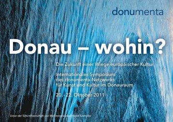 Internationales Symposium für Kunst und Kultur im - Donumenta