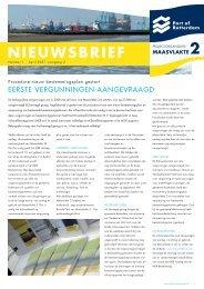 NIEUWSBRIEF - Maasvlakte 2
