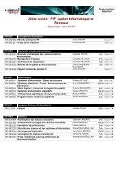 FIP option Informatique et Réseaux - Service d'authentification de ...
