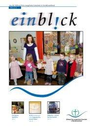 Der neue Einbl! - Stiftung FeG in Norddeutschland und Elim-Diakonie