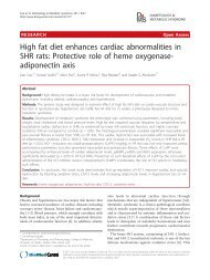 High fat diet enhances cardiac abnormalities in SHR rats: Protective ...
