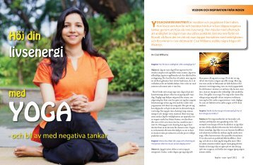 Höj din livsenergi med yoga - Inspire