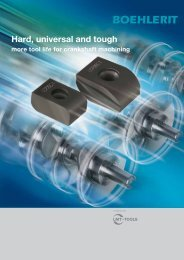 Hard, universal and tough - BOEHLERIT GmbH & Co KG