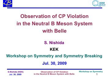 Observation of CP Violation in the Neutral B Meson System with Belle
