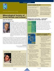 Mineralogical Society of Great Britain and Ireland www ... - Elements