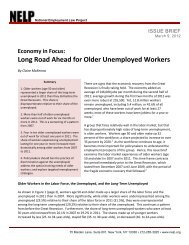 Economy in Focus: Long Road Ahead for Older Unemployed Worker