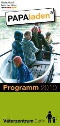 Programm 2010 - Väterzentrum Berlin