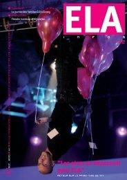 ELA Infos n°72 – décembre 2010