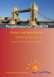 Projektwochen 2008/09