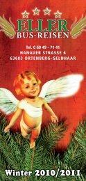 Eller_Reisen_Winterkatalog DRUCK 2010-11.indd