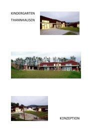 Konzeption des Kindergartens - Gemeinde Thannhausen