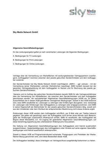 Sky Media Network GmbH