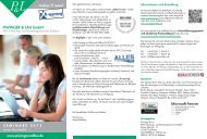 Seminarkalender 2013 - X-Learning