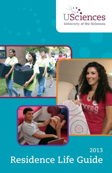 Residence Life Guide - University of the Sciences in Philadelphia
