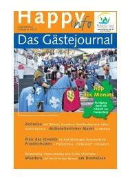 Happy Info - September/Oktober-Ausgabe - Bad Arolsen