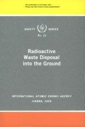 Safety_Series_015_1965 - gnssn - International Atomic Energy ...