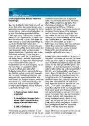 Erfahrungsbericht, Einbau VSI Prins Gasanlage Nun, bei den ...