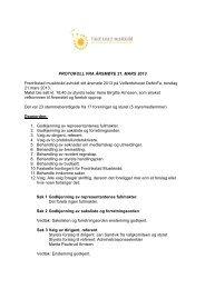 Årsmøteprotokoll 2013