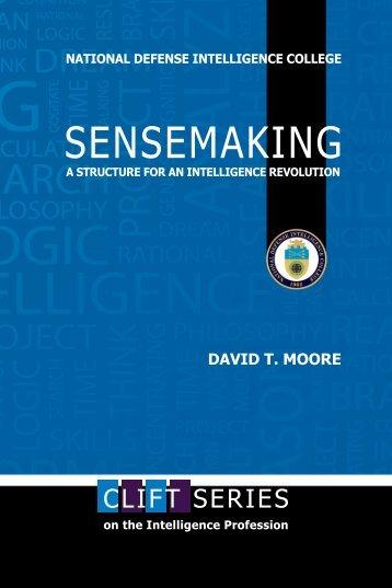 SENSEMAKING - National Intelligence University