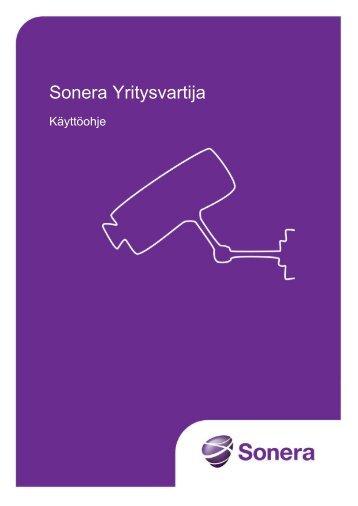 Käyttöohje (pdf) - Sonera