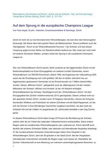 Auf dem Sprung in die europäische Champions League