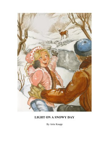 Light On A Snowy Day (downloadable pdf) - Christmas Corner
