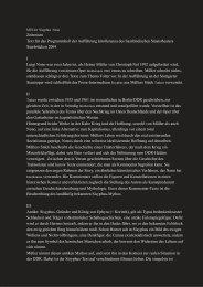 Zeitreisen Text für das Programmheft der ... - Stephan Suschke