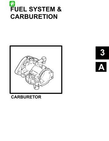 FUEL SYSTEM & CARBURETION