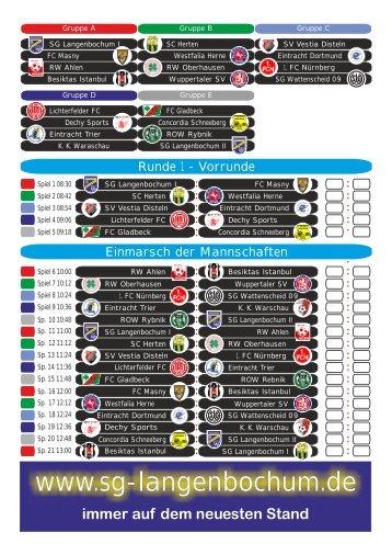 Spielplan Eurocup 2011 - SG 1928 Herten-Langenbochum eV ...