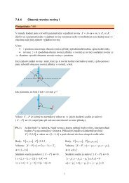 7.4.4 Obecná rovnice roviny I - Realisticky cz