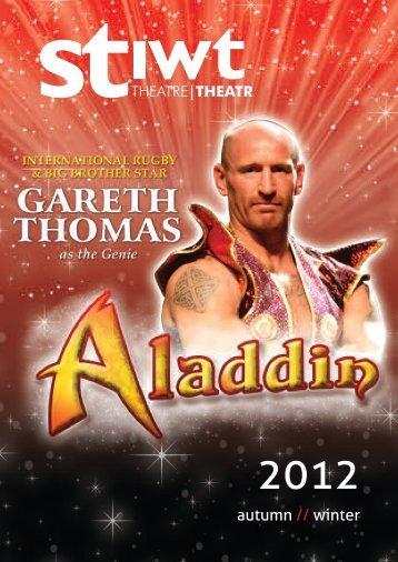 Stiwt Theatre Autumn/Winter 2012 - Wrexham County Borough ...