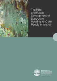 The Role and Future Development of Supportive Housing for Older ...