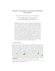 Symbolic Computation of Maximal Probabilistic Reachability*