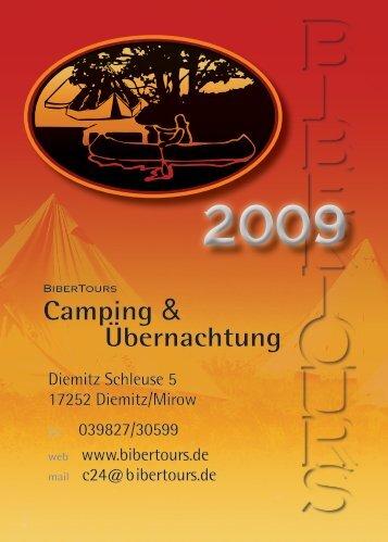 Camping & Übernachtung - Bibertours