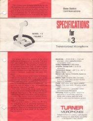 Turner +3 - CB Tricks
