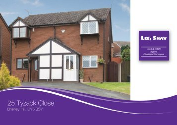25 Tyzack Close - Lee Shaw Partnership