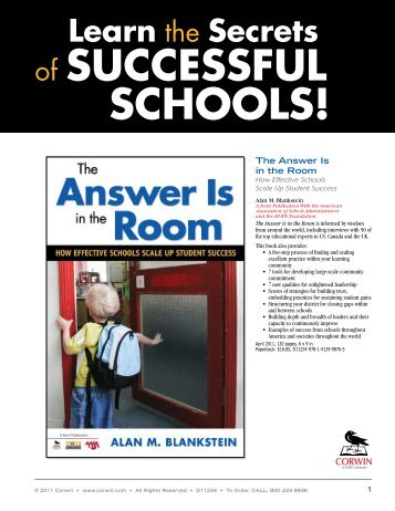 of SucceSSfuL SchooLS! - American Association of School ...