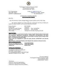Area Purchase Cell – RG II PO: Godavarikhani E-mail: pd_r