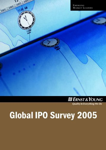 Global IPO Survey 2005