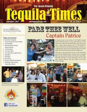 September 2012 Newsletter PDF - Parrot Heads in Amish Paradise