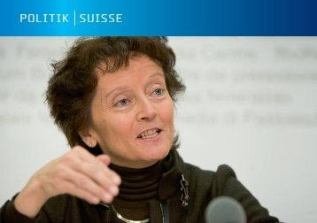 POLITIK SUISSE - TREUHAND|SUISSE Sektion Zentralschweiz