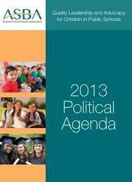 ASBA Political Agenda - Arizona School Boards Association
