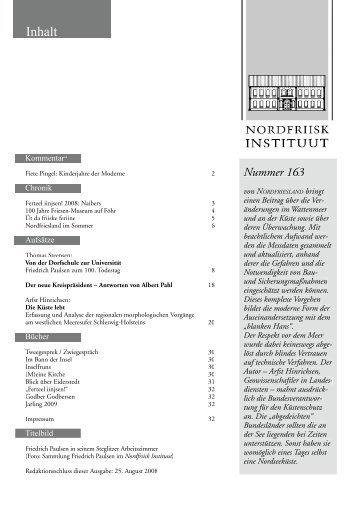 Nummer 163 - Nordfriisk Instituut